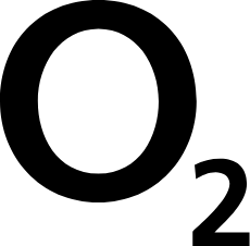 O2 logo black